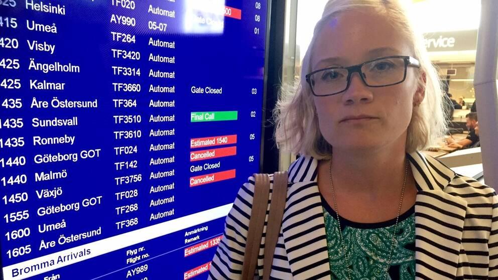 Anna-Lena Alnerud på Bromma