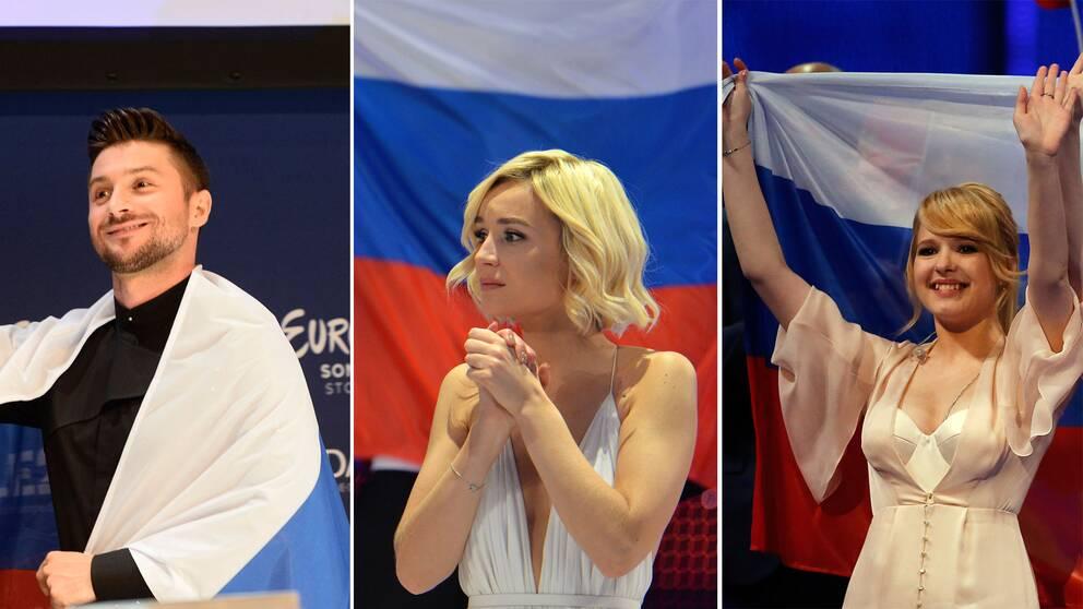 Seregej Lazarev, Polina Gagarina, Systrana Tolmatjova