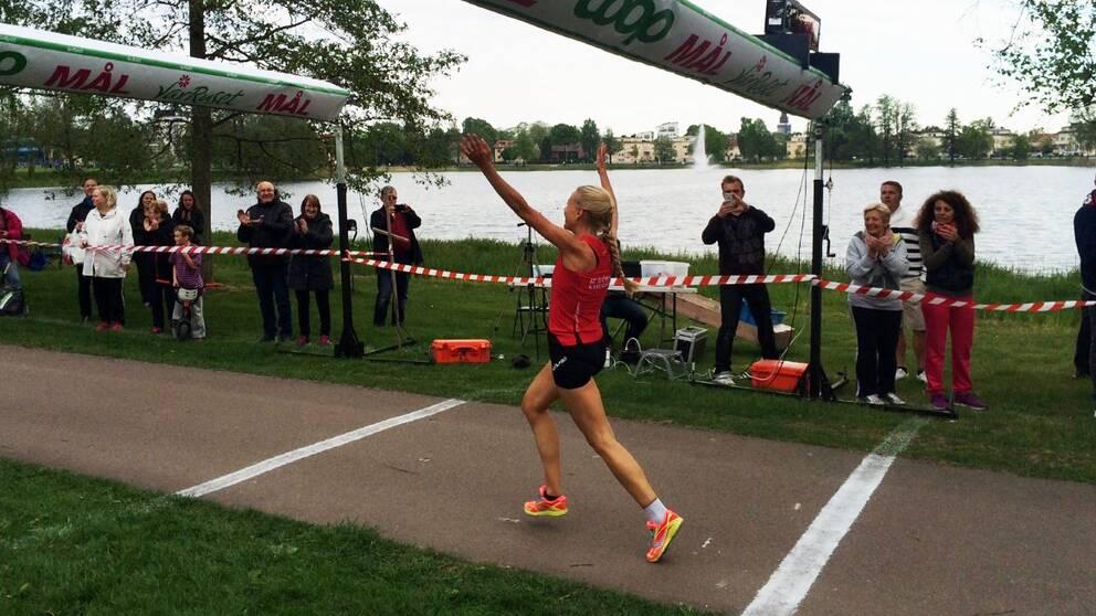 Sofie vann Vårruset på 17 minuter