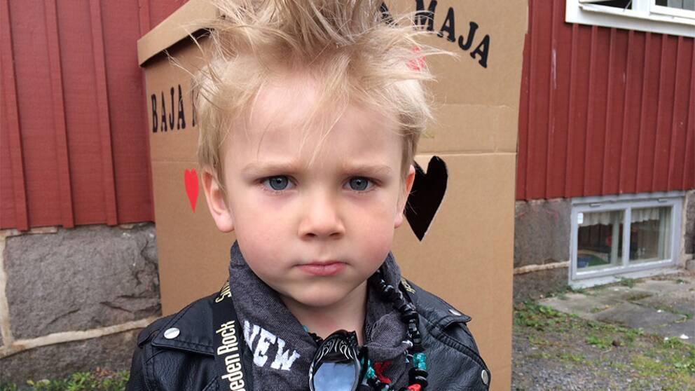 Sixten Olsson 4 år Sweden rock