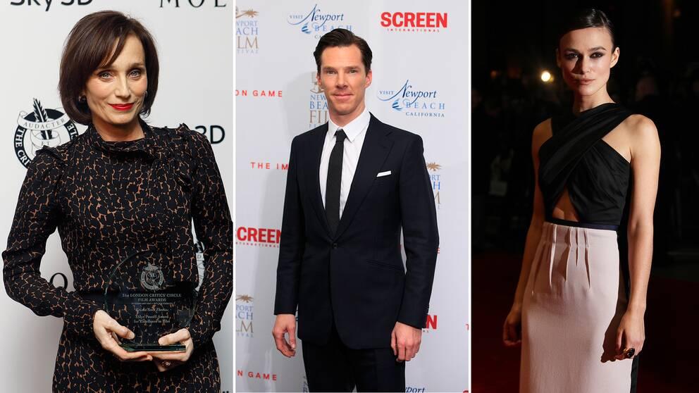 Kristin Scott-Thomas, Benedict Cumberbatch och Kiera Knightley