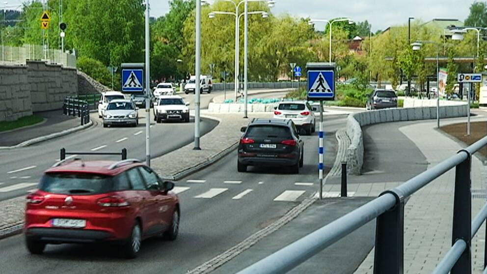 Trafik, centrala Falu.