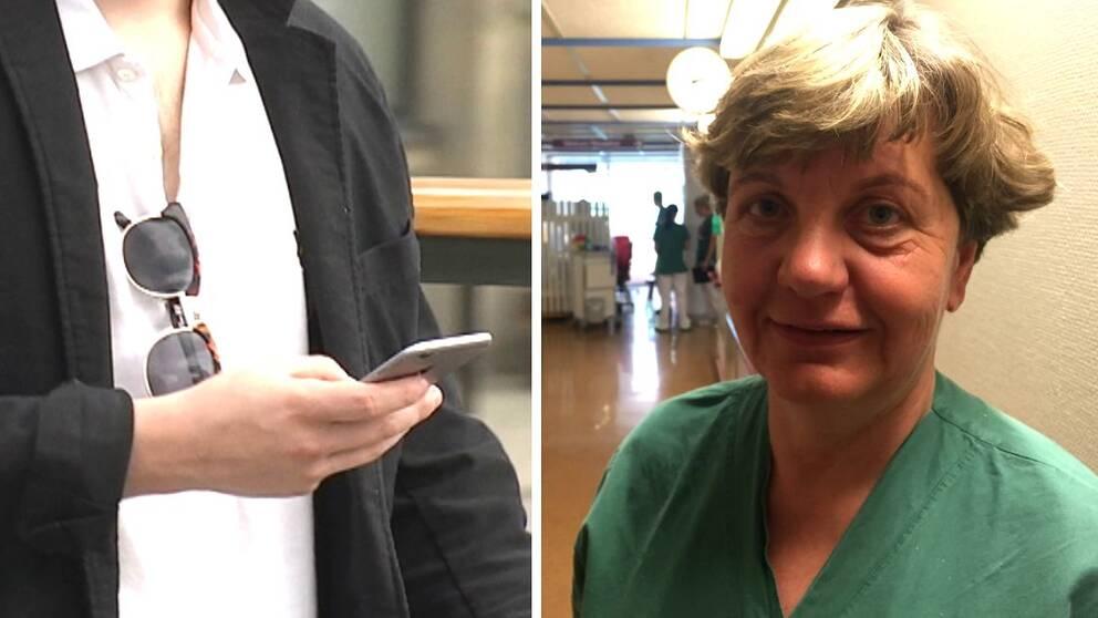 Britt-Marie Persson mobilolyckor