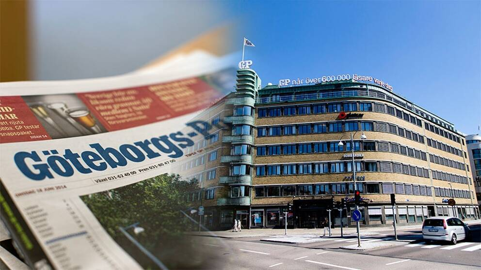 Göteborgs-Postens huvudredaktion.