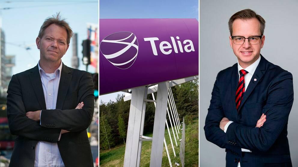 SVD:s chefredaktör Fredric Karén hade hoppats på tydligare besked av IT- och näringminister Mikael Damberg (S).
