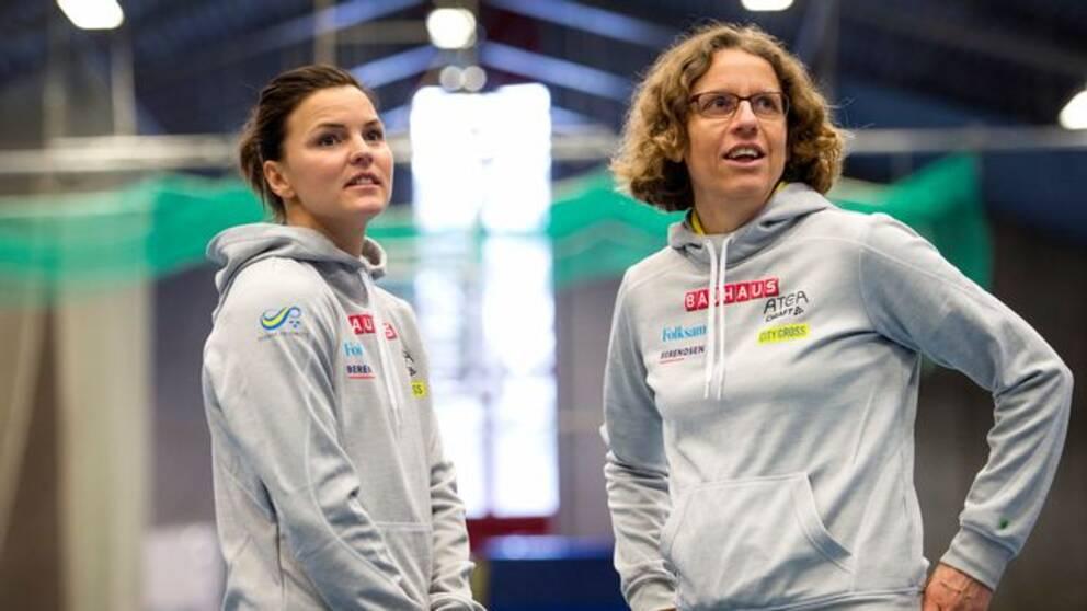 Susanna Kallur och Karin Torneklint.