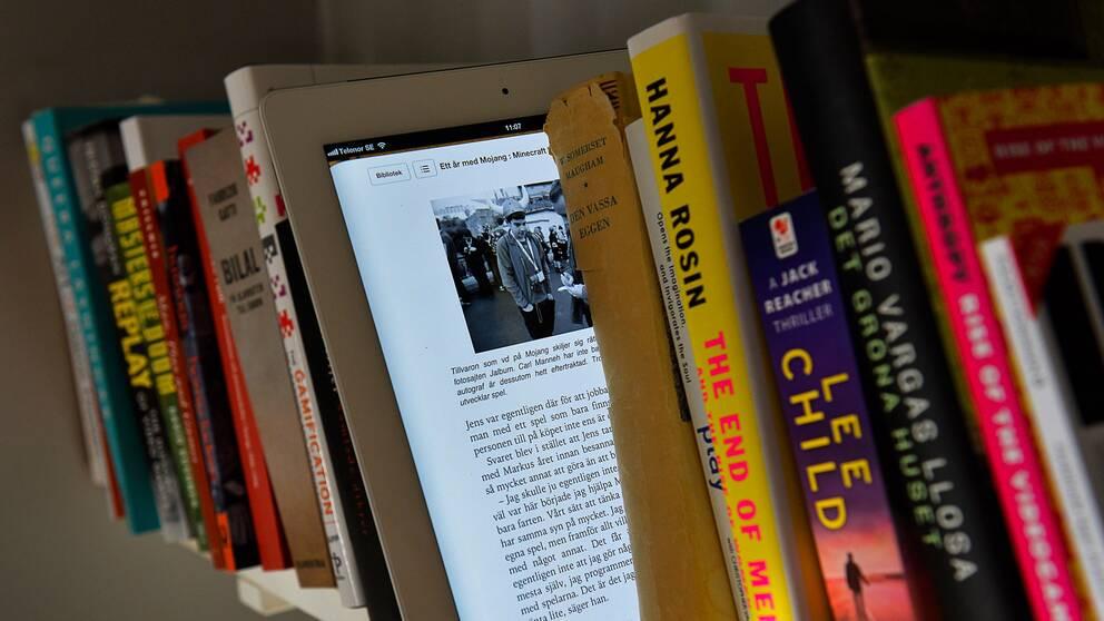 Dyrt för biblioteken med e-medier.