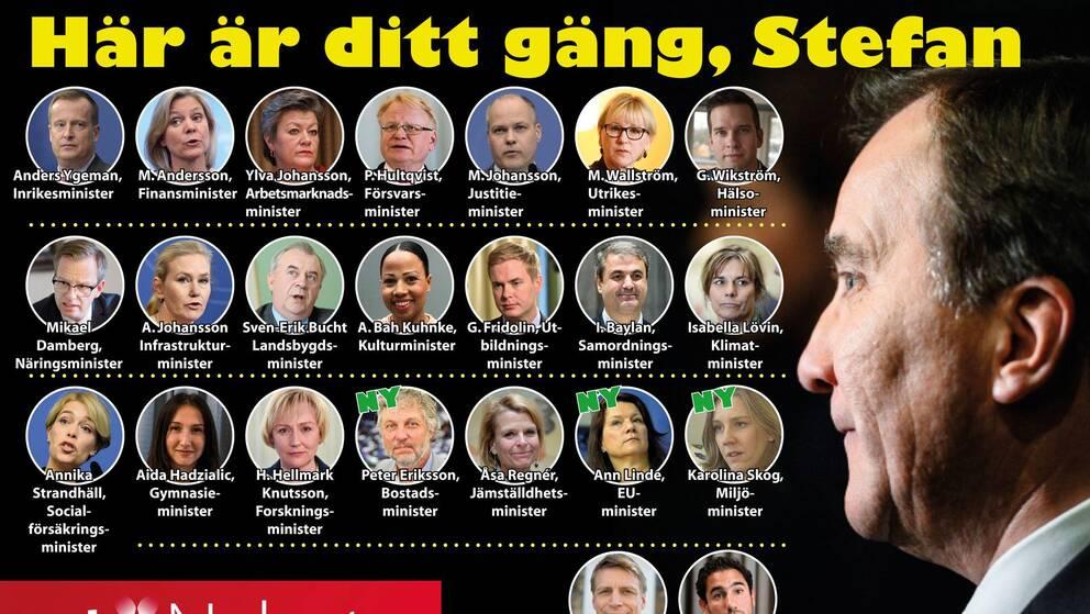 Stefan Löfvens regering.
