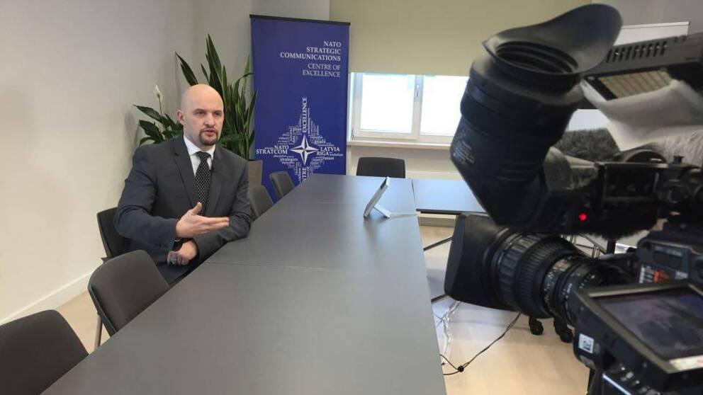 MSB ska förhandla avtal med Natos strategiska kommunikationscentrum