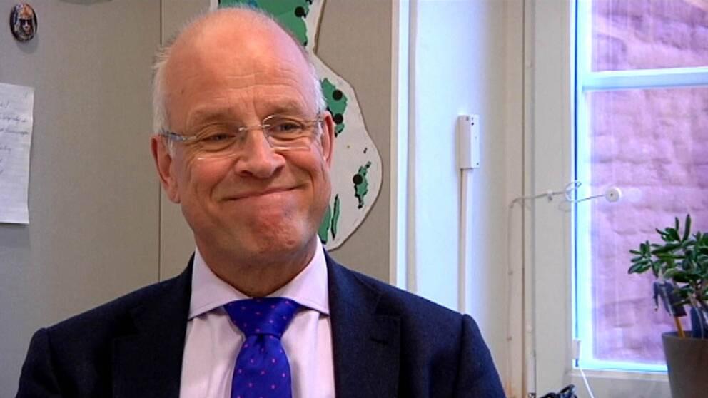 Jacob Spangenberg (C) är positiv till försäljningen av Dannemora gruva.