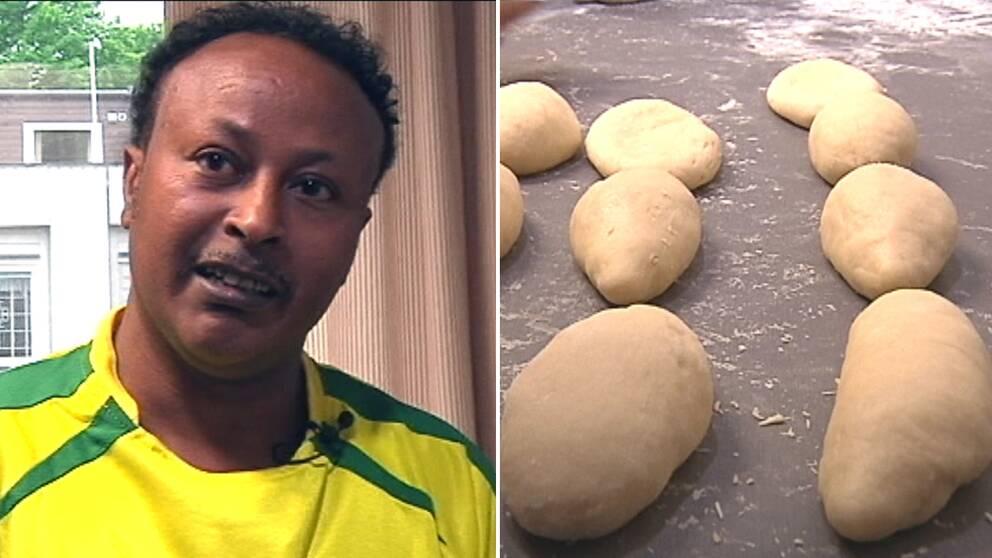 Eritreansk bagare.