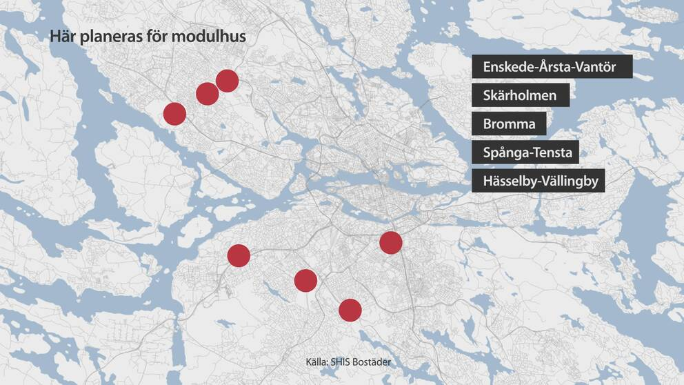 Grafik över modulhus.
