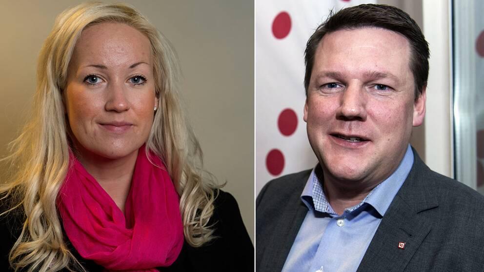 Veronica Lindholm, Berit Müllerström och Tobias Baudin vill alla ta över och försöka återupprätta förtroendet för Kommunal efter vinterns skandaler.