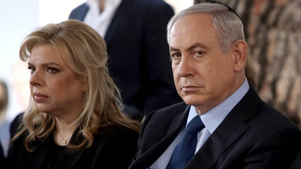 Sara Netanyahu, som är gift med Israels premiärminister Benjamin Netanyahu.