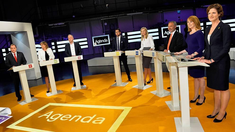 Riksdagens partiledare möttes i Agendas partiledardebatt. Här kan du se en summering av debatten.