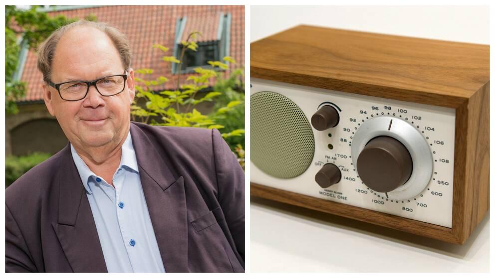 Leif Eriksson är projektledare för en ny radiokanal.
