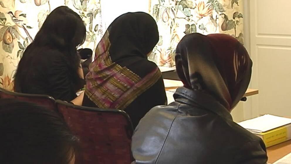 Asylsökande kvinnor