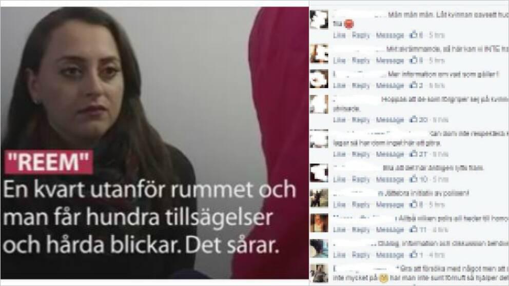 Kommentarer till SVT:s rapportering om svåra förhållanden för kvinnor på asylboenden.