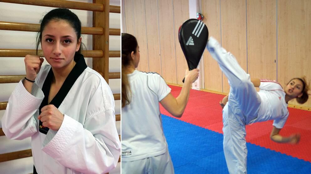 Amnah Chehade är bäst i Sverige och i Norden, men får trots det inte tävla i taekwondolandslaget.