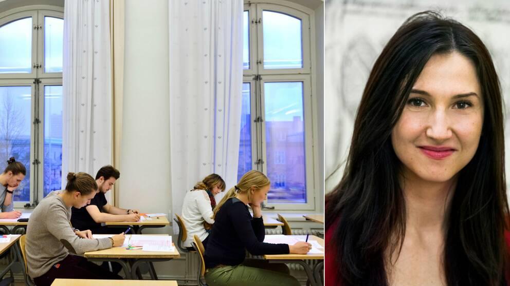 Gymnasie- och kunskapslyftsminister Aida Hadzialic.