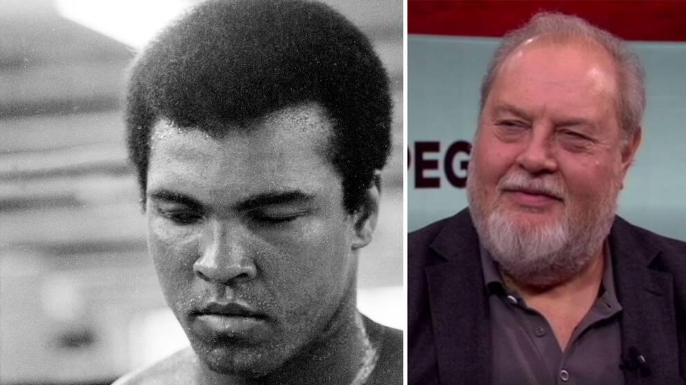 """""""Han satte ihop allt till en dans"""", säger boxningsexperten Olof Johansson om Muhammad Ali."""