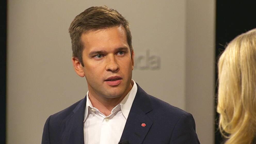 Folkhälsominister Gabriel Wikström