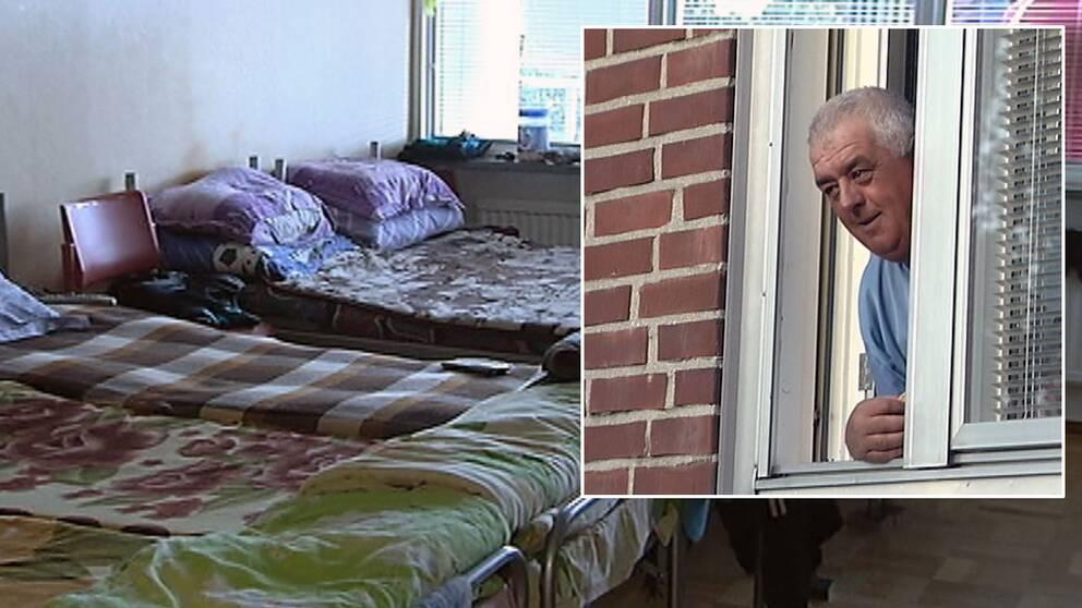 Gästarbetare och lägenhet
