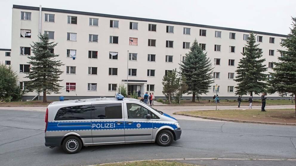 En miljon asylsokande i tyskland
