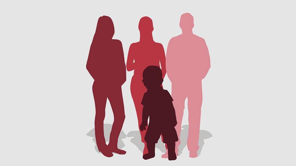 Grafik: så föds svenska barn med surrogatmamma