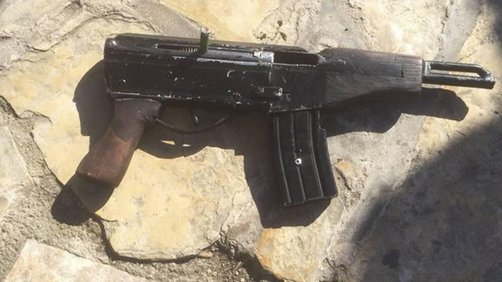 """En variant av """"Carlo"""" – ett egentillverkat skjutvapen som blivit allt vanligare sedan serietillverkade skjutvapen beslagtagits."""