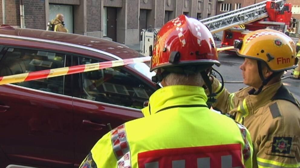 En man i 50-årsåldern misstänks för en rad brandattacker i Göteborg.