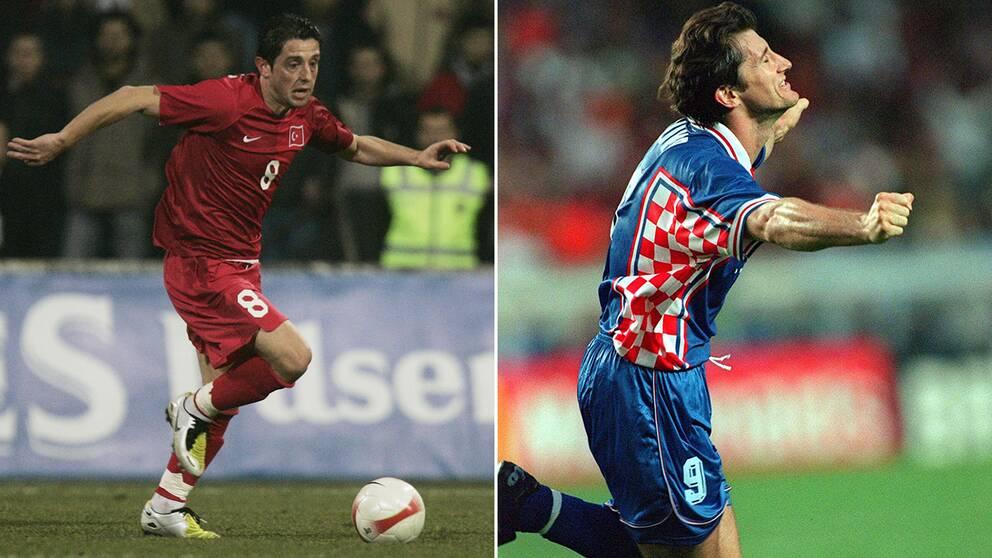 Nihat Kahveci och Davor Suker