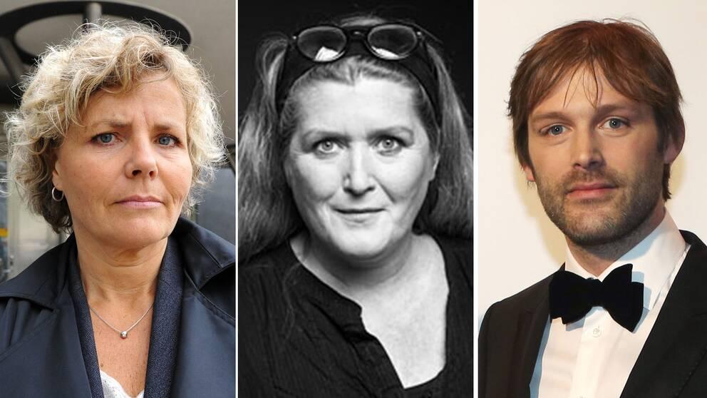 Anna Serner, Helene Grankvist och Jonas Holmberg hoppas på förändring i branschen efter beskedet.