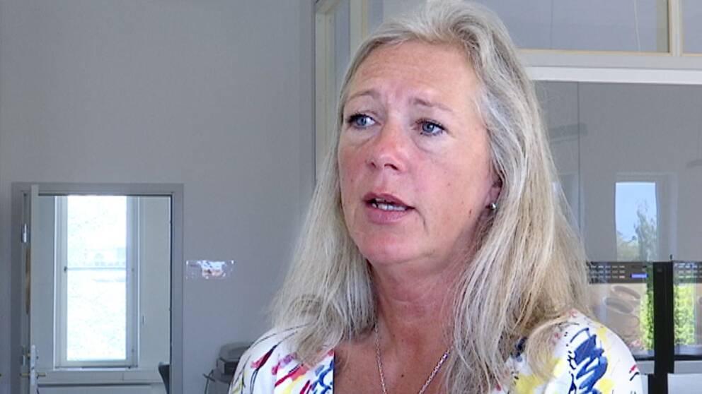 Regionstyrelsens ordförande, Region Gävleborg, Eva Lindberg (S)