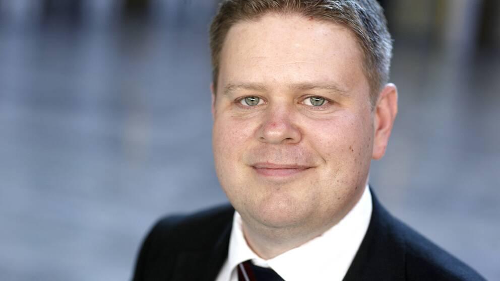 Per Ankersjö, ordförande i partiets grupp som utformar förslaget om fri invandring.