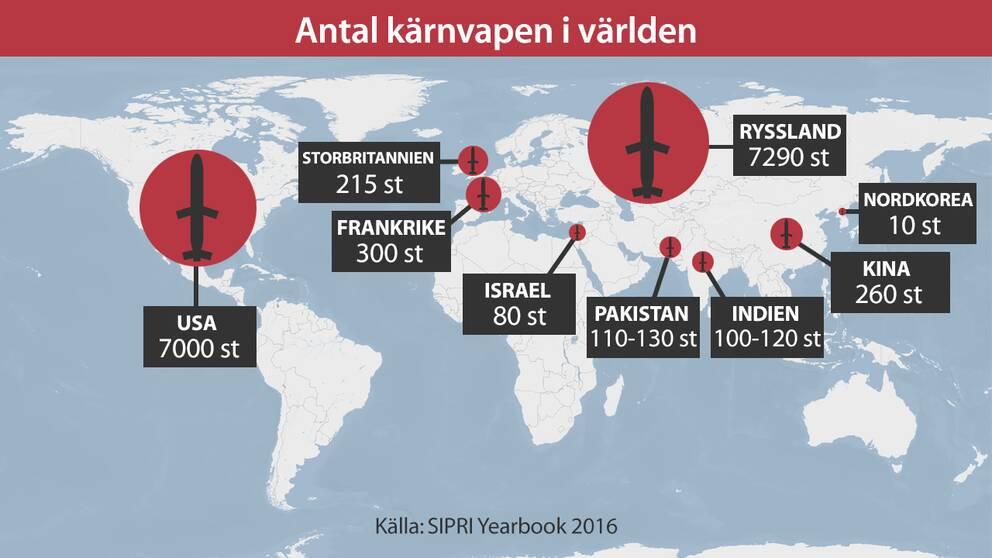 Kärnvapen karta