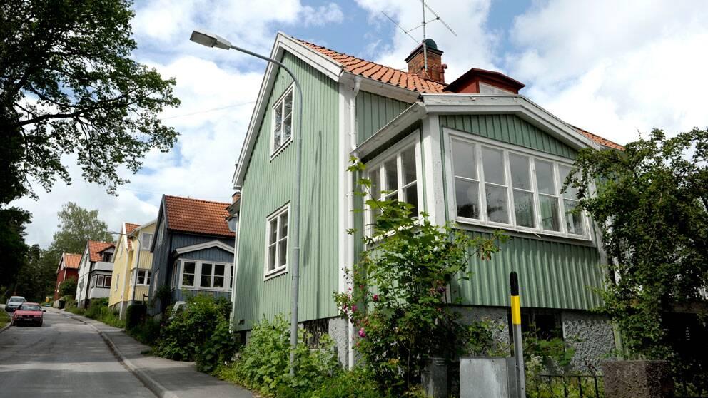 Villaområde i Nockeby