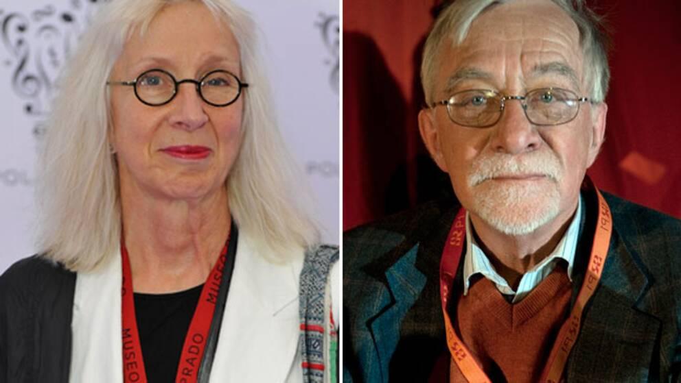 Suzanne Osten och Lars Gustafsson tillhör den svenska parnassen. Åtminstone enligt SVT:s nya program Fråga kultureliten.
