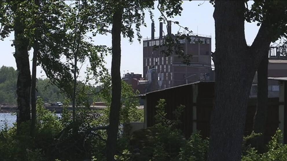 Industribyggnad Karlholm strand