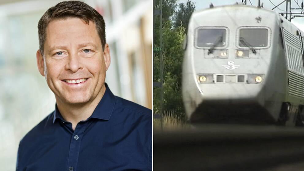 Per Vorberg, tåg,station, sverigeförhandlingarna