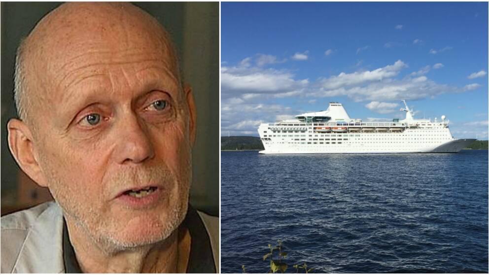 Fred Nilsson och fartyget