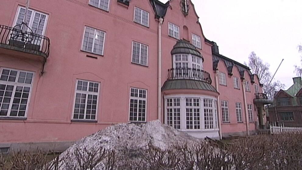 Scharinska villan i Umeå.