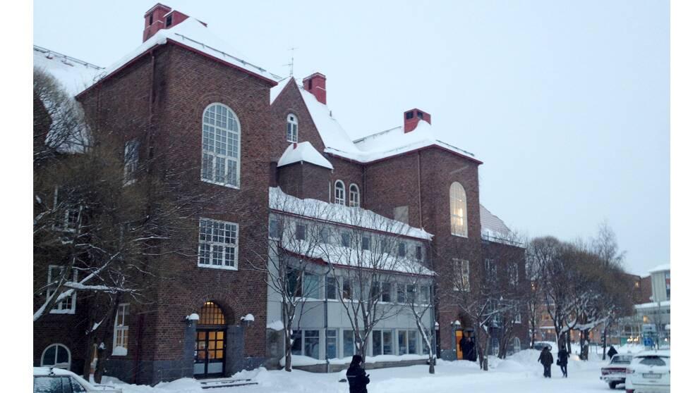 Gamla Vasakolan i centrala Umeå.