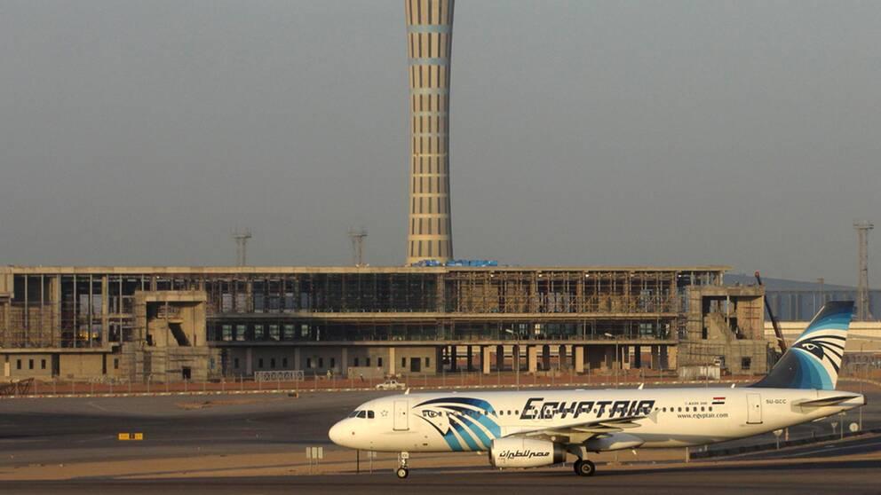Egyptairs flyg 804 försvann över Medelhavet natten mellan 18 och 19 maj. Arkivbild.