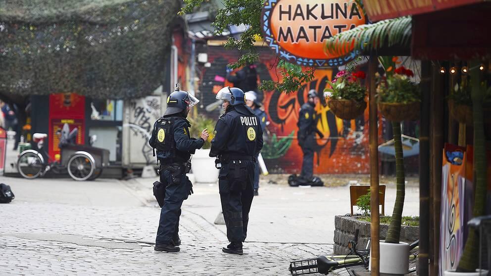 Christiania i Köpenhamn.