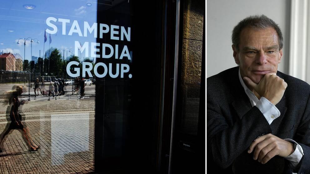 Att Stampen överlever som ett företag är osannolikt, menar Stefan Melesko.