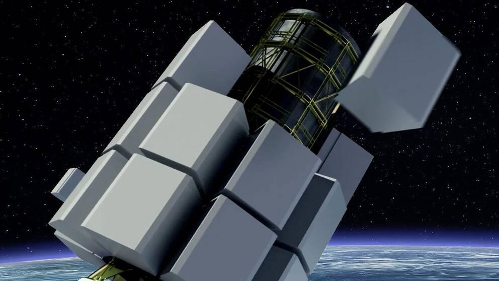 RUAG Space tillverkar det system som placerar ut satelliterna i sina banor.