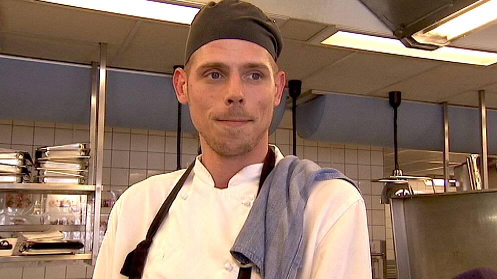 Pontus Lennmarker, kock på Folkets Hus i Stockholm