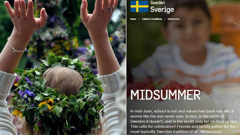 Oklar groddans, efterföljande babyboom och iskall nubbe. Så marknadsförs Sveriges inofficiella nationaldag Midsommar.