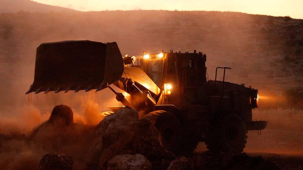 Israelisk bulldozer.